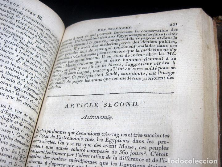 Libros antiguos: Año 1809 Astronomía Egipto 21 en el mundo Artes y Ciencias de la Antigüedad Arquitectura - Foto 9 - 246597525