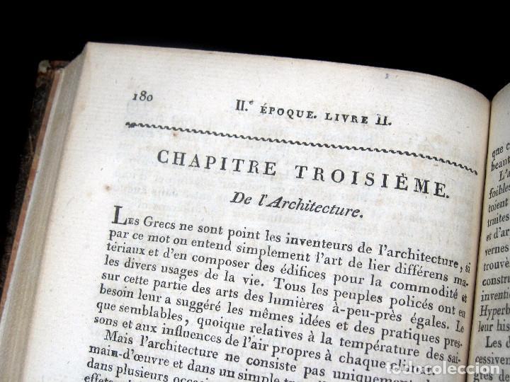Libros antiguos: Año 1809 Astronomía Egipto 21 en el mundo Artes y Ciencias de la Antigüedad Arquitectura - Foto 10 - 246597525