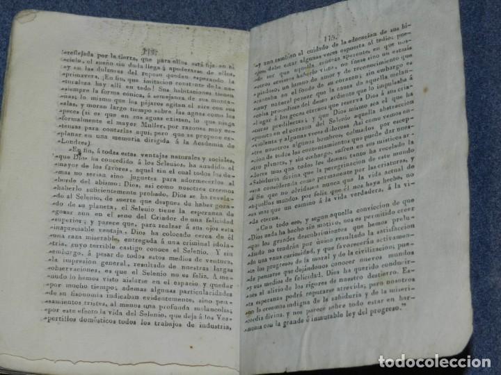 Libros antiguos: (MF) JUAN HESCHEL - PUBLICACION COMPLETA DESCUBRIMIENTOS EN EL CIELO AUSTRAL Y EN LA LUNA CADIZ 1837 - Foto 4 - 257473830