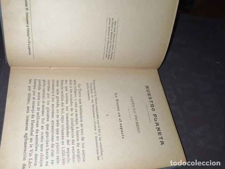 Libros antiguos: NUESTRO PLANETA. ELISEO RECLUS - Foto 4 - 261302310