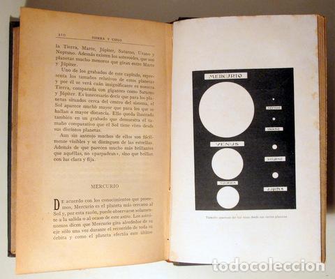 Libros antiguos: ELLEN ROGERS, J. - TIERRA Y CIELO - Barcelona c. 1910 - Ilustrado - Foto 4 - 261563650