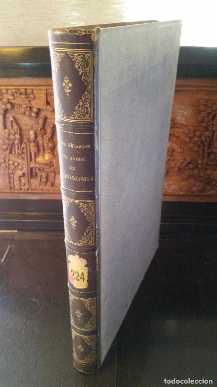 1864 - LIBROS DEL SABER DE ASTRONOMIA DEL REY ALFONSO X - TOMO III: LÁMINA UNIVERSAL, AZAFEHA... (Libros Antiguos, Raros y Curiosos - Ciencias, Manuales y Oficios - Astronomía)