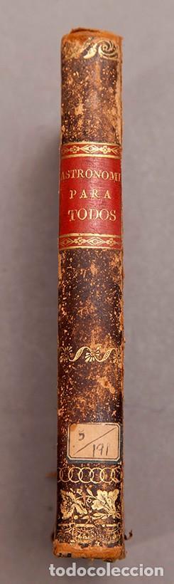 Libros antiguos: Astronomía para todos - Oliva Gerona - 1829 - José Ciganal y Angulo - Foto 3 - 267198984