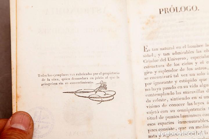 Libros antiguos: Astronomía para todos - Oliva Gerona - 1829 - José Ciganal y Angulo - Foto 6 - 267198984