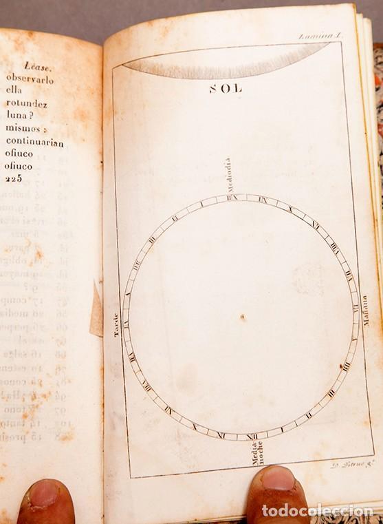 Libros antiguos: Astronomía para todos - Oliva Gerona - 1829 - José Ciganal y Angulo - Foto 12 - 267198984