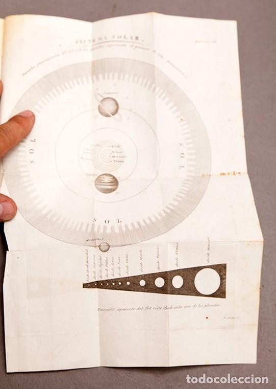 Libros antiguos: Astronomía para todos - Oliva Gerona - 1829 - José Ciganal y Angulo - Foto 13 - 267198984