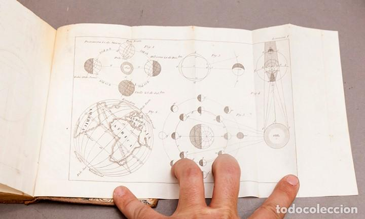 Libros antiguos: Astronomía para todos - Oliva Gerona - 1829 - José Ciganal y Angulo - Foto 15 - 267198984