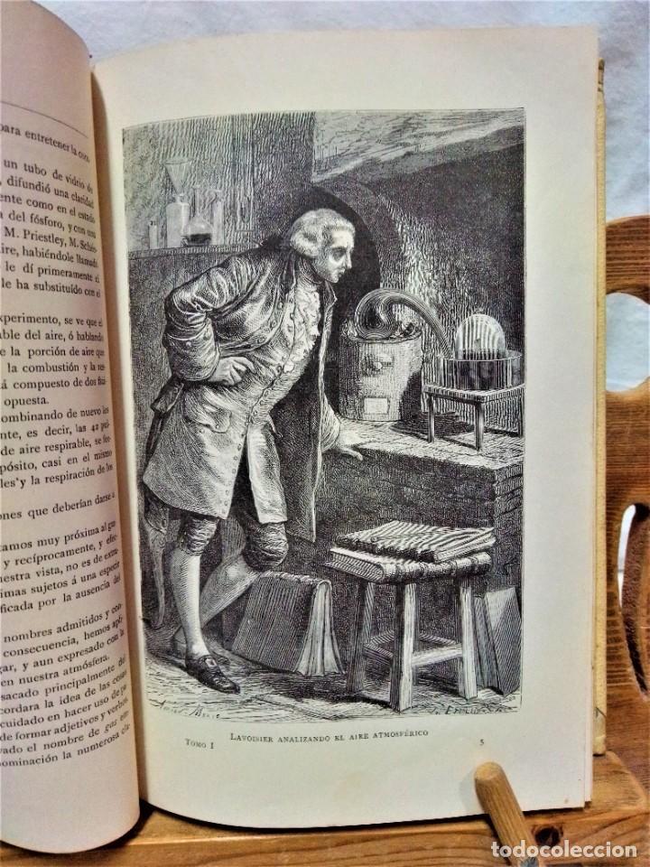 Libros antiguos: LA ATMÓSFERA.POR CAMILO FLAMMARIÓN.2 VOLUÚMENES.MONTANER Y SIMÓN,EDITORES.1902 - Foto 4 - 271000823