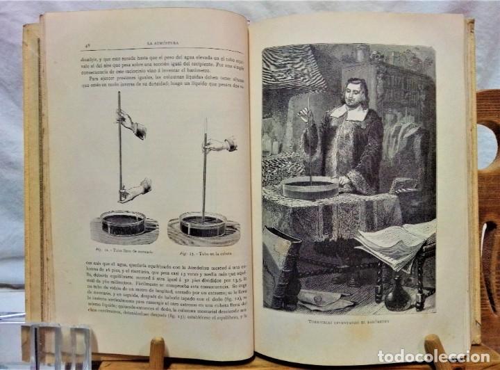 Libros antiguos: LA ATMÓSFERA.POR CAMILO FLAMMARIÓN.2 VOLUÚMENES.MONTANER Y SIMÓN,EDITORES.1902 - Foto 5 - 271000823