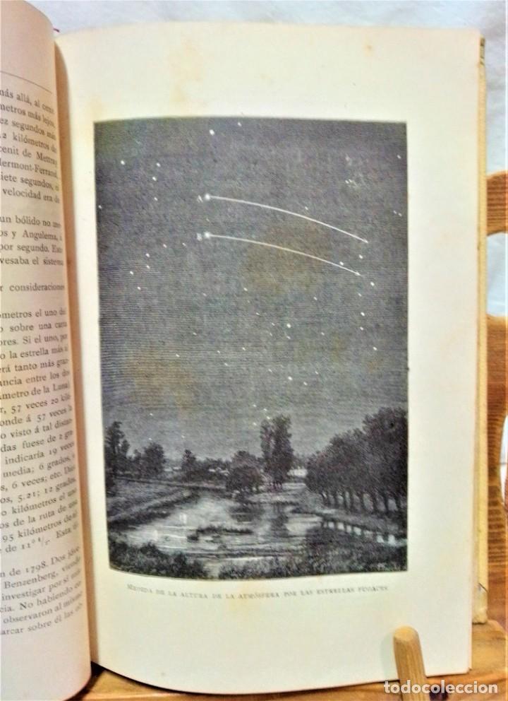 Libros antiguos: LA ATMÓSFERA.POR CAMILO FLAMMARIÓN.2 VOLUÚMENES.MONTANER Y SIMÓN,EDITORES.1902 - Foto 6 - 271000823
