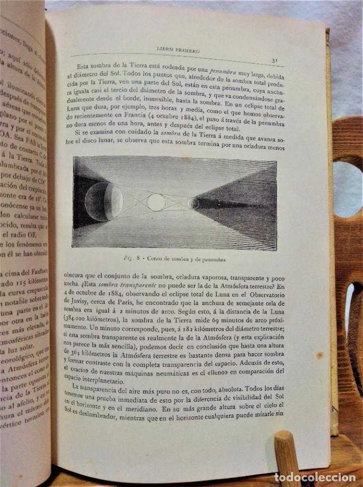 Libros antiguos: LA ATMÓSFERA.POR CAMILO FLAMMARIÓN.2 VOLUÚMENES.MONTANER Y SIMÓN,EDITORES.1902 - Foto 7 - 271000823