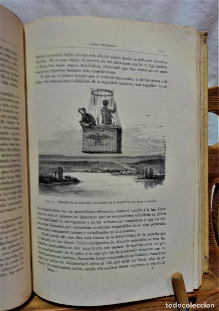 Libros antiguos: LA ATMÓSFERA.POR CAMILO FLAMMARIÓN.2 VOLUÚMENES.MONTANER Y SIMÓN,EDITORES.1902 - Foto 8 - 271000823