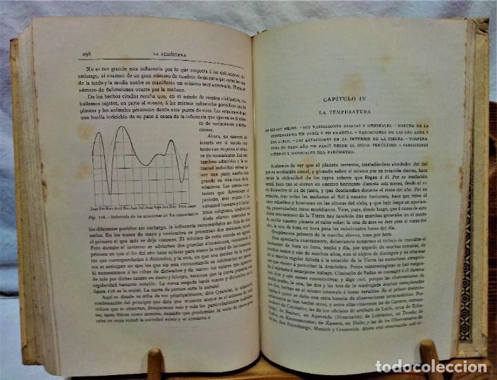 Libros antiguos: LA ATMÓSFERA.POR CAMILO FLAMMARIÓN.2 VOLUÚMENES.MONTANER Y SIMÓN,EDITORES.1902 - Foto 9 - 271000823