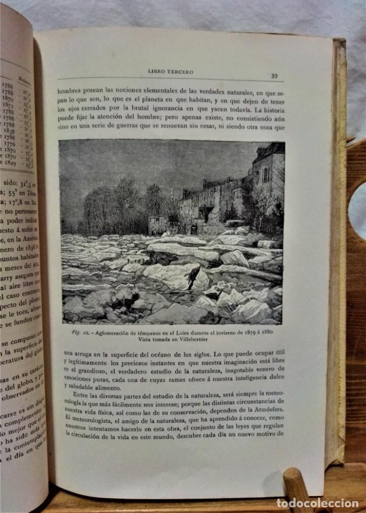 Libros antiguos: LA ATMÓSFERA.POR CAMILO FLAMMARIÓN.2 VOLUÚMENES.MONTANER Y SIMÓN,EDITORES.1902 - Foto 13 - 271000823
