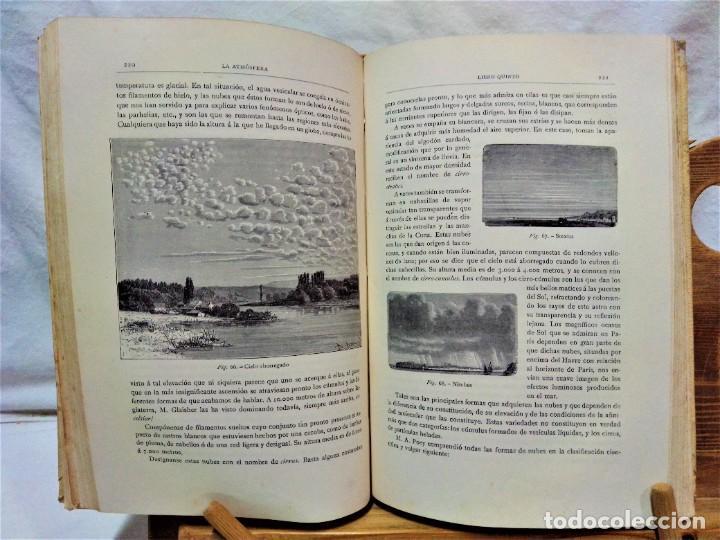 Libros antiguos: LA ATMÓSFERA.POR CAMILO FLAMMARIÓN.2 VOLUÚMENES.MONTANER Y SIMÓN,EDITORES.1902 - Foto 16 - 271000823