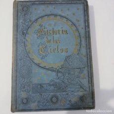 Libros antiguos: HISTORIA DE LOS CIELOS ROBERTO STAWELL RAMON MOLINAS PRECIOSOS GRABADOS Y CROMOLITOGRAFIAS SIGLO XIX. Lote 274574208
