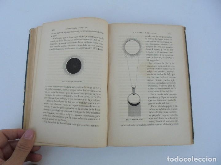 Libros antiguos: ASTRONOMIA POPULAR. LA TIERRA Y EL CIELO. CAMILO FLAMMARION. IMPRENTA Y LIBRERIA DE GASPAR 1879. - Foto 12 - 277513598