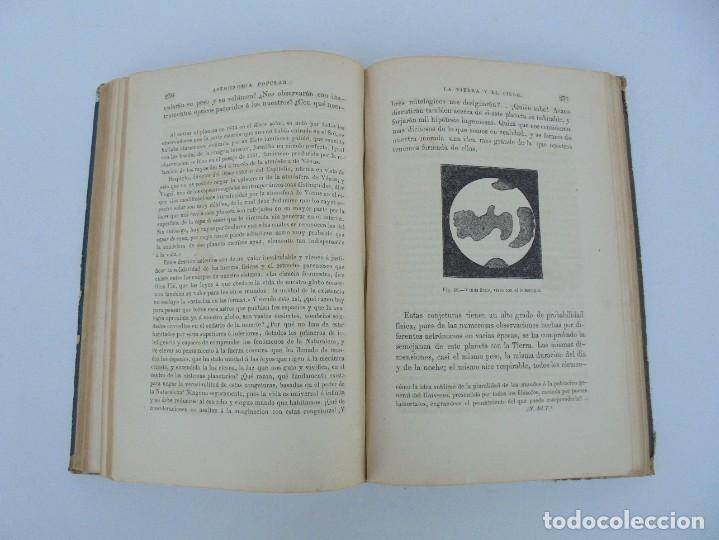 Libros antiguos: ASTRONOMIA POPULAR. LA TIERRA Y EL CIELO. CAMILO FLAMMARION. IMPRENTA Y LIBRERIA DE GASPAR 1879. - Foto 13 - 277513598