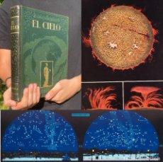 Libros antiguos: EL CIELO - NOVÍSIMA ASTRONOMÍA ILUSTRADA - JOSÉ COMAS SOLÁ. Lote 277927713