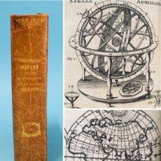 Libros antiguos: AÑO 1763 - PTOLOMEO - COPÉRNICO - ASTRONOMÍA - ESFERA ARMILAR - TELESCOPIO - PROPAGACIÓN DE LA LUZ.. Lote 285489463