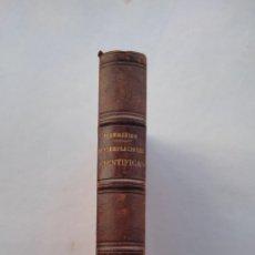 Libros antiguos: CONTEMPLACIONES CIENTÍFICAS 1874 CAMILE FLAMMARION. Lote 287130243