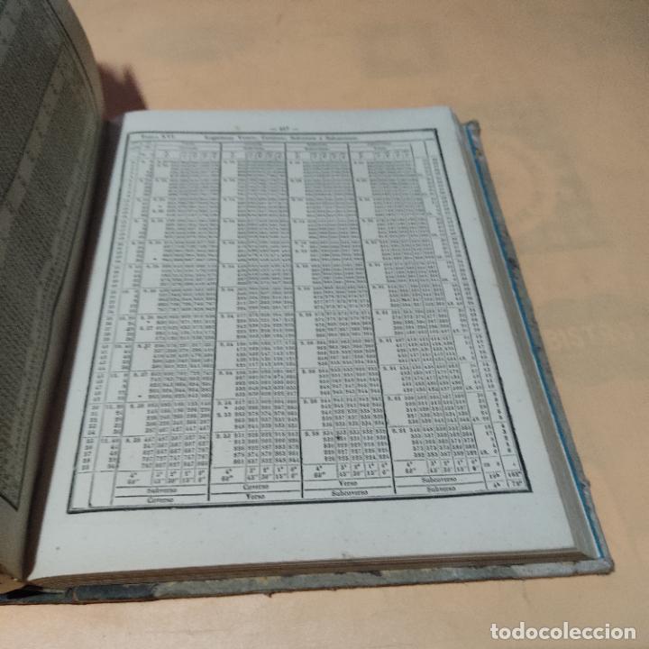 Libros antiguos: COLECCION COMPLETA DE TABLAS PARA LOS USOS DE LA NAVEGACION Y ASTRONOMIA NAUTICA. LEER. VER FOTOS. - Foto 6 - 289027583