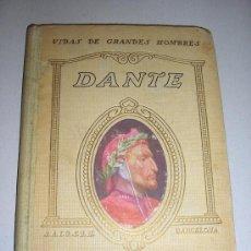 Libros antiguos: 1932 - DANTE - ALFONSO MASERAS. Lote 27360761
