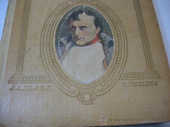 Libros antiguos: VIDAS DE GRANDES HOMBRES, NAPOLEON, S.A.I.S.B.H., BARCELONA. - Foto 3 - 12891633