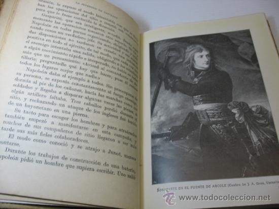 Libros antiguos: VIDAS DE GRANDES HOMBRES, NAPOLEON, S.A.I.S.B.H., BARCELONA. - Foto 5 - 12891633