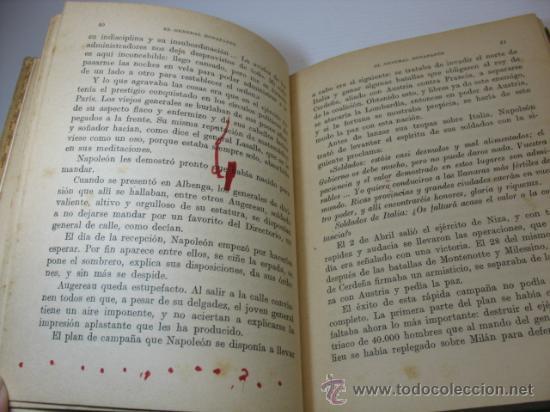 Libros antiguos: VIDAS DE GRANDES HOMBRES, NAPOLEON, S.A.I.S.B.H., BARCELONA. - Foto 6 - 12891633