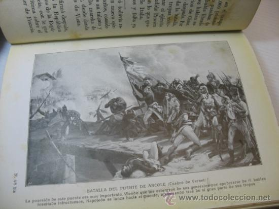 Libros antiguos: VIDAS DE GRANDES HOMBRES, NAPOLEON, S.A.I.S.B.H., BARCELONA. - Foto 7 - 12891633