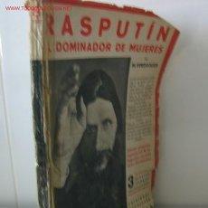 Libros antiguos - RASPUTÍN .. El dominador de mujeres........1931 .. 51 fotos. - 26395748