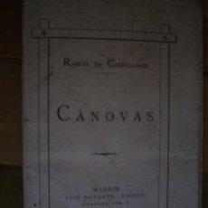 Libros antiguos: 1884 CANOVAS RAMON DE CAMPOAMOR. Lote 27215502