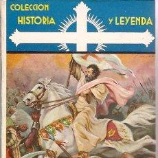 Libros antiguos: COLECCION HISTORIA Y LEYENDA SANTIAGO APOSTOL SERIE VIDAS DE SANTOS. Lote 14378488