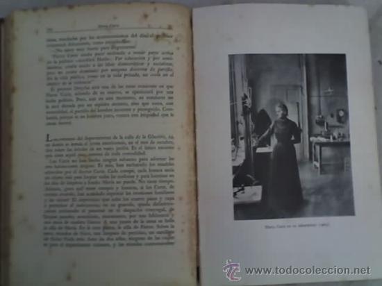 Libros antiguos: LA VIDA HEROICA DE MARIA CURIE, por Eve Curie - Segunda Edición - Espasa Calpe - Argentina - 1937 - Foto 4 - 20873739