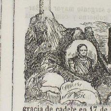 Libros antiguos: 1851 BIOGRAFIA DEL BRIGADIER DE INFª D. JOSE Mª DE RAJOY MONTERO DE ESPINOSA (PUERTO DE SANTA MARIA). Lote 23012114