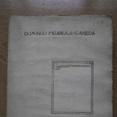 Libros antiguos: GERTRUDIS GÓMEZ DE AVELLANEDA. BIOGRAFÍA, BIBLIOGRAFÍA E ICONOGRAFÍA, FIGAROLA-CANEDA (DOMINGO). Lote 17036959