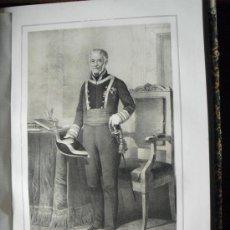 Libros antiguos: 1852 BIOGRAFIA DEL TENIENTE GENERAL DON FRANCISCO MANUEL DE VILLENA GUADALFAJARA 42X31 CMS. Lote 152479722
