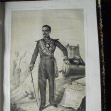Libros antiguos: 1852 BIOGRAFIA DEL TENIENTE GENERAL DON ATANASIO ALESON COBOS 42X31 CMS. Lote 25497858