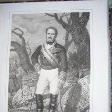 Libros antiguos: 1852 BIOGRAFIA DEL TENIENTE GENERAL DON ISIDORO DE HOYOS RUBIN DE CELIS 42X31 CMS. Lote 18959284