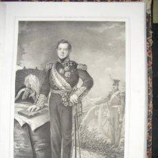 Libros antiguos: 1852 BIOGRAFIA TTE. GRAL. D. FCO. JAVIER DE OMS Y DE SANTA PAU OLIM DE SENMANAT Y VERA 42X31 CMS. Lote 24583373