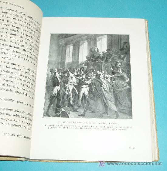 Libros antiguos: VIDA DE NAPOLEÓN. JUAN PALAU VERA. ILUSTRACIONES - Foto 2 - 23885499