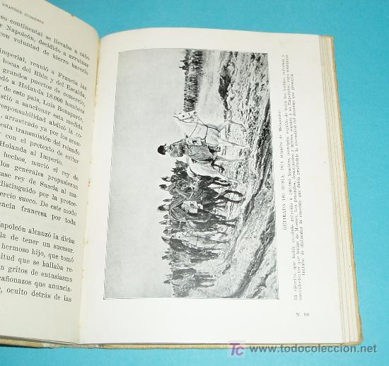 Libros antiguos: VIDA DE NAPOLEÓN. JUAN PALAU VERA. ILUSTRACIONES - Foto 3 - 23885499