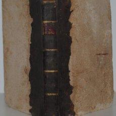 Libros antiguos: 1720.- VIDA Y OBRA POSTHUMAS DE DON FRANCISCO DE QUEVEDO Y VILLEGAS. ESCRITA POR PABLO ANTONIO.. Lote 26360059