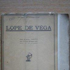 Libros antiguos: LOPE DE VEGA. CARAYON (MARCEL). Lote 21942401