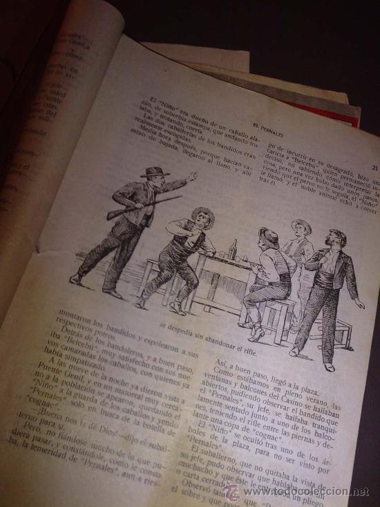 Libros antiguos: BANDIDOS CELEBRES DE ESPAÑA EL PERNALES TOMO UNICO - Foto 3 - 23048389