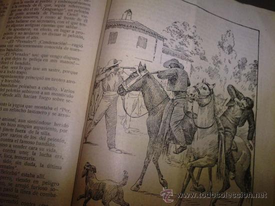 Libros antiguos: BANDIDOS CELEBRES DE ESPAÑA EL PERNALES TOMO UNICO - Foto 5 - 23048389