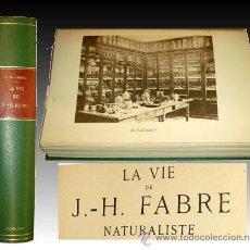 Libros antiguos: 1936 - ENTOMOLOGIA - LA VIDA DEL NATURALISTA HENRY FABRE - IMPRESCINDIBLE. Lote 24627309