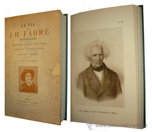 Libros antiguos: 1936 - ENTOMOLOGIA - LA VIDA DEL NATURALISTA HENRY FABRE - Imprescindible - Foto 11 - 24627309