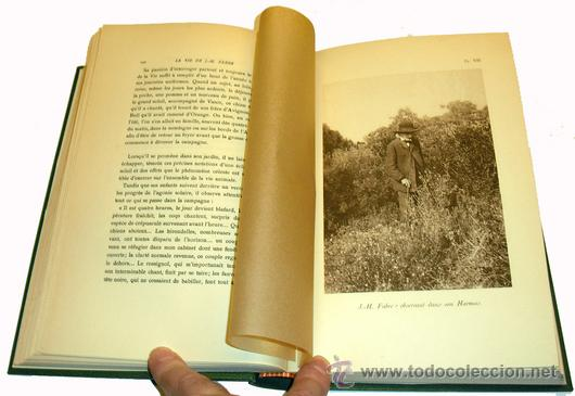 Libros antiguos: 1936 - ENTOMOLOGIA - LA VIDA DEL NATURALISTA HENRY FABRE - Imprescindible - Foto 9 - 24627309